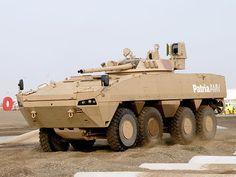 El Patria AMV (Armoured Modular Vehicle) es un vehículo blindado moderno 8×8 diseñado por los ingenieros de la compañía finlandesa Patria. El modelo se introdujo en el mercado en 2004 y hasta ahora se han fabricado cerca de 1.400 vehículos para las fuerzas armadas de Finlandia, Croacia, Polonia, Eslovenia, Sudáfrica, Suecia y Emiratos Árabes Unidos.