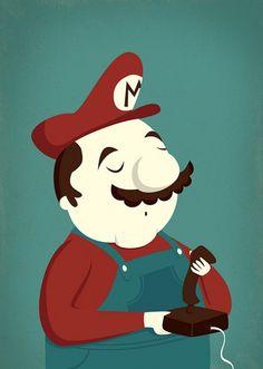 Poster Mario Bros