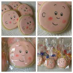 Caillou Cookies GreeksNSweets by GreeksNSweets on Etsy, $26.00