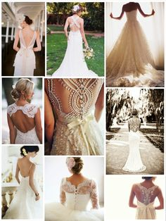 1920's wedding theme… great back wedding dresses.