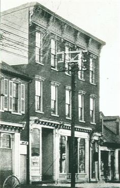 Lancaster General Hospital's first home in 1893, 318 N. Queen St., Lancaster