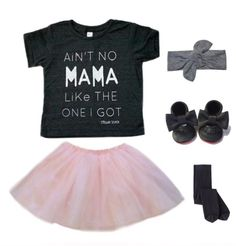 Ain't no Mama✖️Outfit inspiration for all lil princesses, paired up with super cute items. Tap pic for styling deets✖️   Shop www.stellar-seven.com    #stellarseven #aintnomamaliketheoneigot #ootd #babyootd #kidsootd #kidsfashion #ig_kids #instagram_kids #fashion #instakids