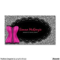 sold #Fashion #Lingerie Business Card. #boutique Available in different products. Check more at www.zazzle.com/celebrationideas