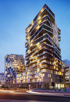 Bâtiment Home, ZAC Masséna, Paris XIII - ZAC Masséna, Paris XIII - Hamonic + Masson & Associés