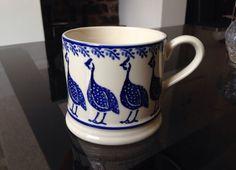Emma Bridgewater Vintage Style Peacock Small Mug 1999