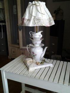 Lampada teiera creazione Atelier 57f