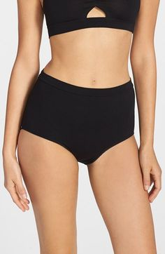 Women's Only Hearts 'So Fine' Triangle Cutout High Waist Briefs