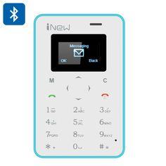 iNew Mini 1 Credit Card Phone (Blue)