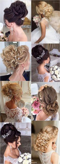 Elstile Long Wedding Hairstyle Inspiration / http://www.deerpearlflowers.com/elstile-long-wedding-hairstyle-inspiration/
