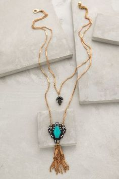 Lucid Tassel Necklace