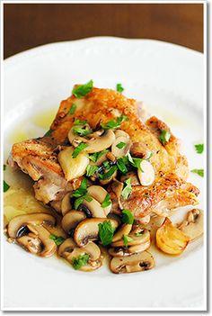 鶏もも肉のソテー、きのこのソース by レシピとイタリア食材の神戸 ...