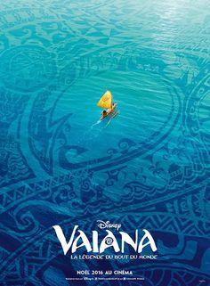 L'affiche française de Vaiana, la légende du bout du monde des studios Disney dévoilée au Festival international du film d'animation d'Annecy