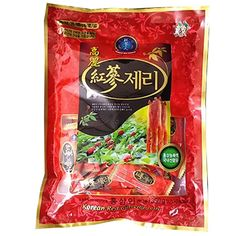 Korean Red Ginseng Jelly, Size : 350g (Gram)  Made of an extract of well grown red ginseng roots.  Naturally flavored with balanced sweetness  Red Ginseng Jelly presents you with it's original flavor and aroma.  Good taste and best snack for children  Everyone will like this Red jelly and it is great as it is delicious and also helpful for health. Size : 500g