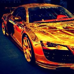 """I've got a golden ti...R8!!"" ;)"