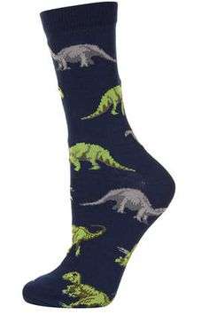 Dinosaur Ankle Socks - New In This Week - New In - I got these for my Party! So excited Foot Socks, Ankle Socks, 29th Birthday Parties, Dinosaur Design, Big Kids, Hosiery, Bag Accessories, Awesome Socks, Tights