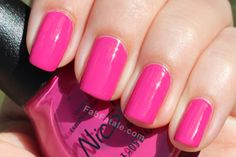 Nicole by OPI Kardashian Kolor – Our Fuchsia's Lookin' Bright (Fuchsia/Magenta/Hot Pink nail polish)