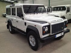 Land Rover Defender 110 td4 Station Wagon S- Genuine factory specifications made.