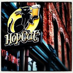 Hopcat -  Awesome beer pub - Rated by as #3 beer bar in the world by Beer Advocate