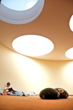 Schulbau moderne Architektur-Architekten Schulgebäude