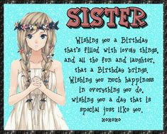 A lovely birthday card for a special sister. Free online Just As Special As You ecards on Birthday Birthday Wishes Funny, Birthday Songs, Birthday Fun, Very Happy Birthday, Happy Birthday Banners, Sister Cards, Beautiful Birthday Cards, Happy Panda, Name Cards