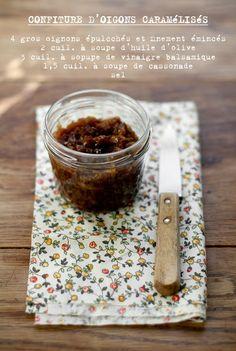 - VANIGLIA - storie di cucina: io e parigi *2: confettura di cipolle caramellate e aceto balsamico