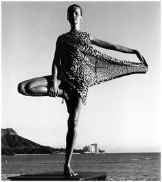 Veruschka by Horst P. Horst, Hawaii, 1965