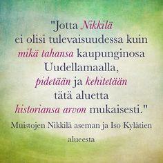 #muistojennikkilä #nikkilä #nickby #sipoo #sibbo #poimintakyselystä #plockfrånenkäten