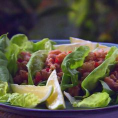 Lime Shrimp Lettuce Wraps By Paula Deen
