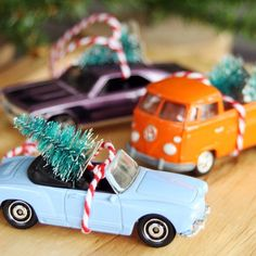 Learn how to make these inexpensive Christmas car ornaments. They make perfect gifts!