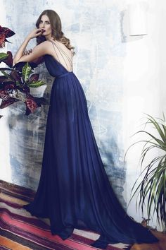 A Daily Style and Design Site of Interiors, Fashion, Luxury Style, Travel, and Leisure. Cool Chic Style Fashion inspire you every day. Couture Fashion, Fashion Show, Strapless Dress Formal, Formal Dresses, Blue Gown, Sophisticated Style, Summer Collection, Amazing Photography, Beautiful Dresses