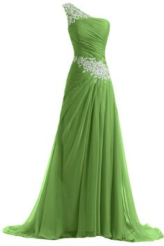Sunvary New Chiffon and Applique Long Bridesmaid Dresses Evening Prom Gowns: Amazon Fashion