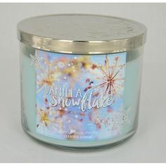 Bougie parfumée 3 mèches VANILLA SNOWFLAKE Bath and Body Works