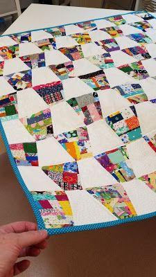 Scrappy Quilt Patterns, Scrappy Quilts, Mini Quilts, Quilting Tutorials, Quilting Projects, Quilting Designs, Patch Quilt, Block Quilt, Tumbler Quilt