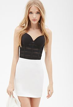 Caged Mesh Cami | FOREVER21 - 2049258616