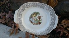 CLEARANCE....Vintage Limoges American-Triumph, Platter, Pattern Name China d'Or ( B )