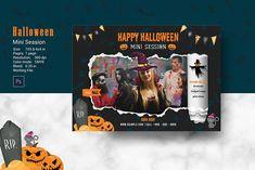 Halloween Mini Session, Photo Folder, Halloween Photography, Text Tool, Photography Marketing, Photoshop Elements, The Help, Custom Design, Text File