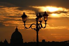 Pôr do sol ao redor do mundo - Roma (Itália)