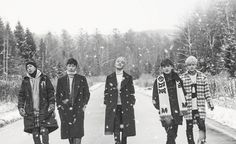 "Sechs Kies Fully Embraces Winter In Group Teaser Image For ""2016 Re-Album"""
