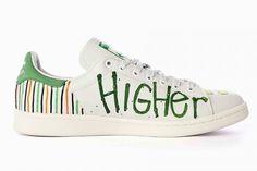 PHARRELL'S HAND-PAINTED €500 STAN SMITHS - Sneaker Freaker