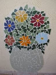Image result for mosaic orquideas Mosaic Crafts, Mosaic Projects, Mosaic Art, Mosaic Tiles, Projects To Try, Mandala, Mosaic Flowers, Baubles And Beads, Container Flowers