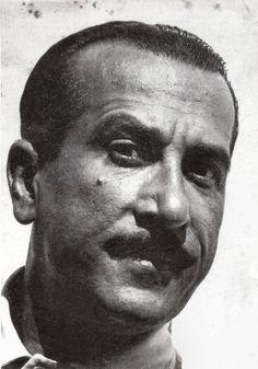 Peppino De Filippo. Italian postcard in the series Gli Artisti di Napoli.