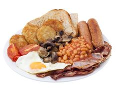 Scottish Breakfast: A Scottish Fry Up - Now, that's a serious breakfast for a hardy laddie.