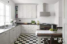 Kitchen, nordic classicism