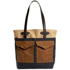 Brooks Brothers Filson® Tote (19.410 RUB) ❤ liked on Polyvore featuring men's fashion