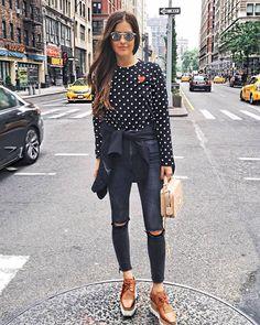 Fashion Diary platform oxfords fall spring