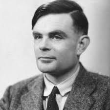 """This is a picture of Alan Turing. He was a British maths prodigy. He was one of the head people in cracking Enigma. This is a primary source as it is a photo of Alan Turing before he went to work on cracking Enigma which turned into making """"Christopher"""" or its also known as the Bombe machine.. With Alan making the Bombe machine it shortened the war by a few years and it is estimated that he save millions of live, including Canadian lives."""
