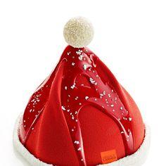 Bûche Bonnet du Père Noël - Arnaud Larher 2016 Framboise Vanille