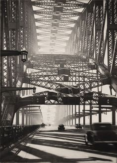 Harold Cazneaux Sydney Bridge. Australia (1934)
