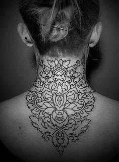 My neck tattoo