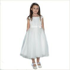 NEW Thalia Flower Girl Dress in Ivory